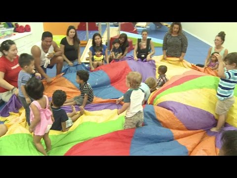 Gymboree Play and Music is a great place for toddlers and preschoolers to learn and play!