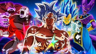 The Strongest Team on Dokkan!? 100%? Limit Breaking Realm of Gods Team! Dragon Ball Z Dokkan Battle