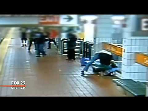 Cop Gets Beaten And Good Bystanders Dont Call For Help video