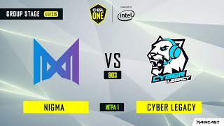 Nigma vs Cyber Legacy (игра 1) BO3 | ESL One Los Angeles | Online