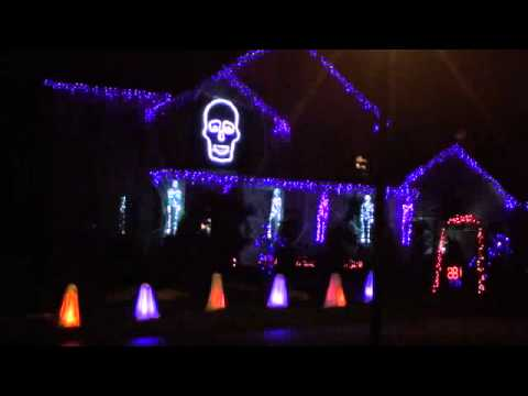 Halloween Light Show 2011 -  I Gotta Feeling Music Videos