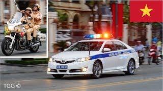 [Vietnam] Police VIP Motorcade   CSGT vượt khó hộ tống VIP giờ cao điểm