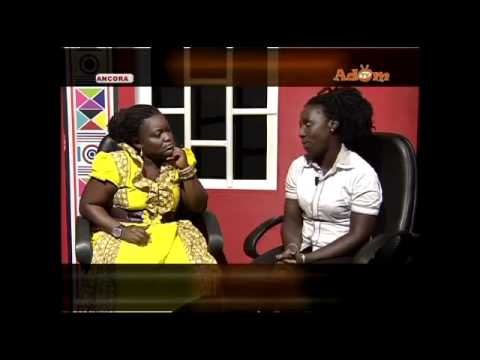 Watch Exclusive Akua Vic Agya Koo's Wife Interview on Adom TV Part 1
