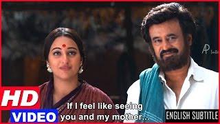 Lingaa Tamil Movie Scenes HD   Rajinikanth Refuses To Go To His Village   Sonakshi Sinha   AR Rahman