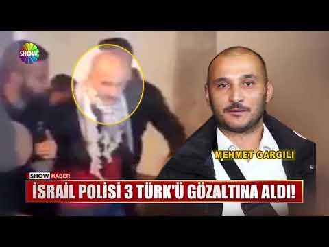 İsrail Polisi 3 Türk'ü gözaltına aldı!
