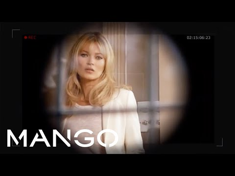 Kate Moss for MANGO Spring 2012 - Spy Game