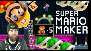 100 Mario 5 Lives Expert Challenge [#02] - Super Mario Maker