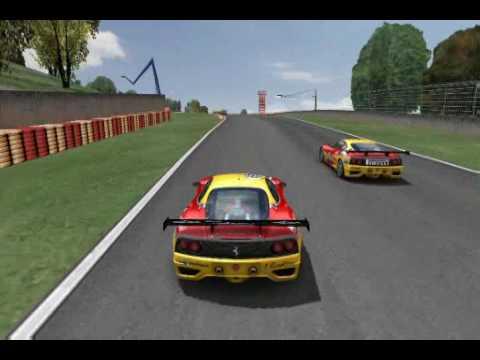 Audi R8 Gtr2. Mugello GTR2 Modena duel