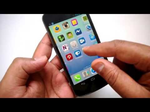 iOS7 for Android- Espier Launcher Review