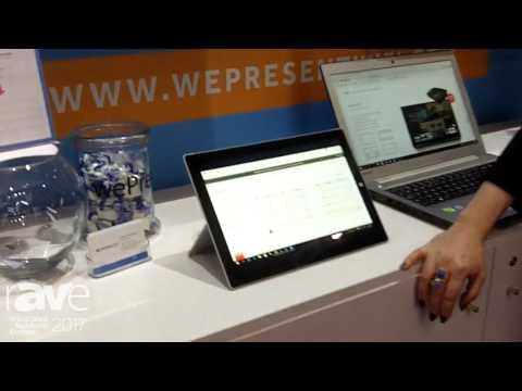 ISE 2017: wePresent Intros wePresent Management Suite