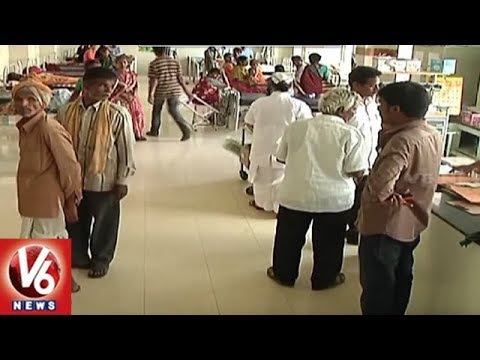 Viral Fevers And Seasonal Diseases Increased In Hyderabad Due To Weather Change | V6 News