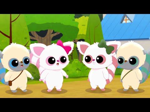 Юху и его друзья - Ненастоящие друзья - Смешные мультфильмы про зверят