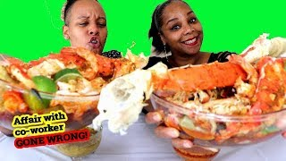 King Crab Deshelled Seafood Boil in Bloves Sauce
