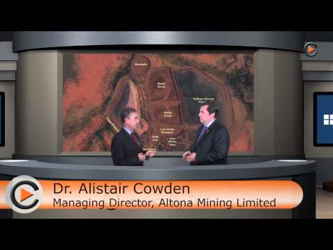 Commodity TV - Altona Mining news update on current projects with Dr. Alistair Cowden - June 2013