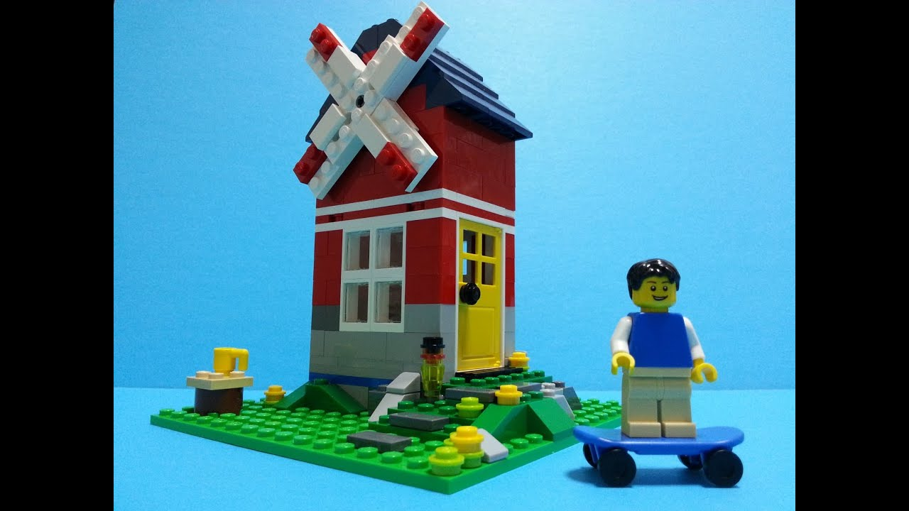 Lego Creator 31009 Windmill Build Review Youtube