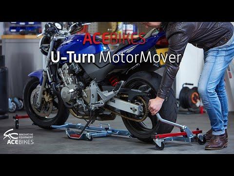 Das Motorrad ohne große Mühe rangieren? Acebikes Rangierhilfe Motorcycle Dolly  Le déplace moto