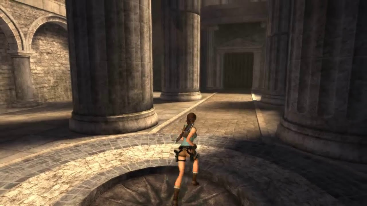 how to play tomb raider anniversary