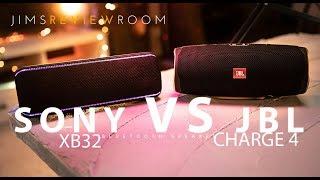 JBL Charge 4 vs Sony XB32 Bluetooth Speaker - REVIEW & VERSUS