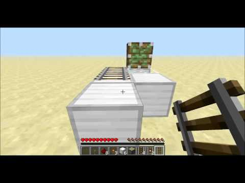 Minecraft 1.7.4: Rail Duplication Glitch Tutorial