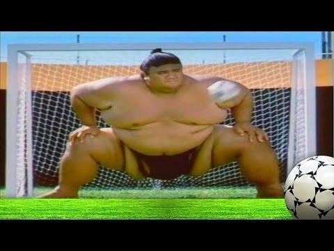 Sumo Wrestling Soccer ft. Beckham, Davids, Costa, Raul & Carlos