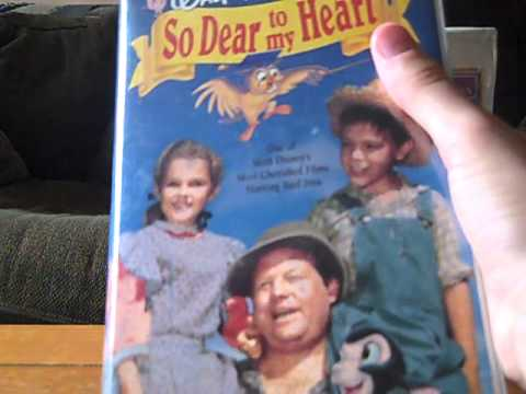 2 Different VHS Versions of So Dear To My Heart
