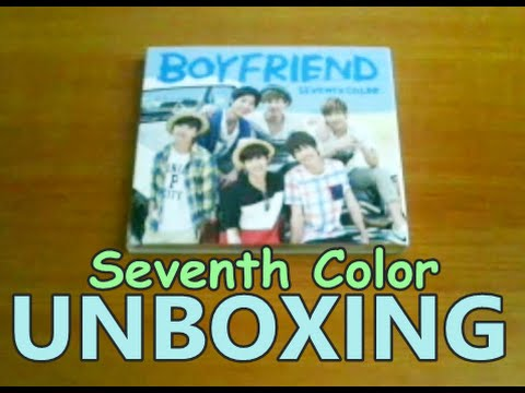 Unboxing - BOYFRIEND