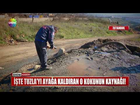İşte Tuzla'yı ayağa kaldıran o kokunun kaynağı!