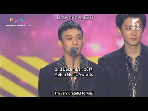 EXO OT9 moments of the past year - You'll Come Back, Lay~ We'll wait for you~