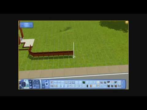 The Sims 3 - Building a House 17 - Avalon Grande - Part 1 - Landscaping