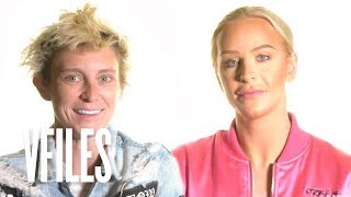 Gigi Gorgeous & Nats Getty...Was it Love at First Sight? | VFILES TMI
