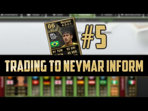 FIFA 13 I Trading to Neymar Inform I Episode 5 [Ultimate Team I Deutsch]