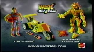 Max Steel Tv Spots 2006 Remasterizados [HD]