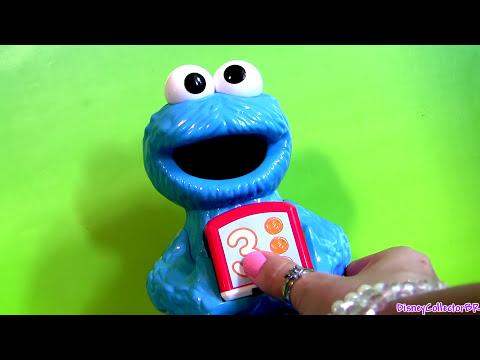 Cookie Monster Learn To Count Numbers Using Disney Pixar Cars Sesame Street Playset video