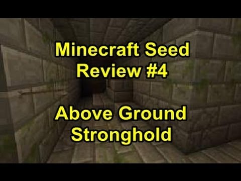 Minecraft Xbox 360: Seed Review #4 - Above Ground Stronghold