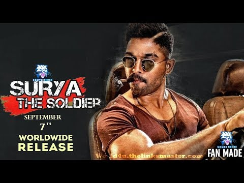 Surya The Soldier (Naa Peru Surya) 2018 Hindi Dubbed Movie Theaters Release Date | Allu Arjun
