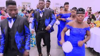 RUDEBOY - DOUBLE DOUBLE FT OLAMIDE , PHYNO // Grooms and Brides entrance in Louisville,KY Wedding//