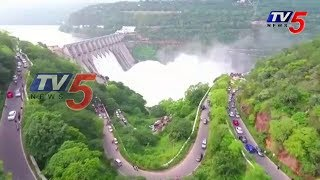 Amazing Srisailam Dam Exclusive Drone Visuals