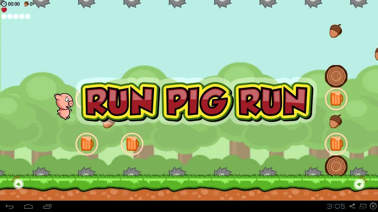 Run Pig Run Beta Flappy Bird