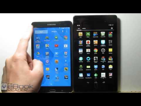 Samsung Galaxy Tab 4 vs Nexus 7 2nd Gen Comparison Review