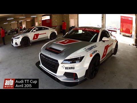 Audi TT Cup 2015 : essai vidéo AutoMoto sur le circuit de Castellolí