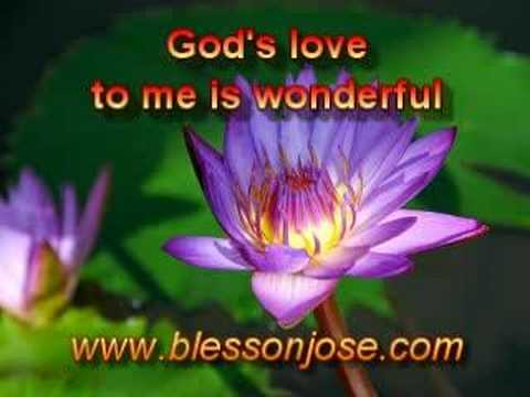 English Christian Song [ God's Love To Me Is Wonderful ] video