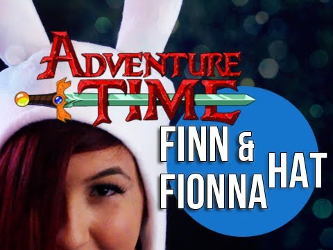 DIY Finn & Fionna Adventure Time Hat -  Sew Geek