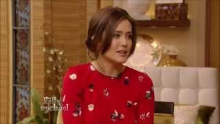 Megan Boone Live with Kelly and Michael 12 5 2014