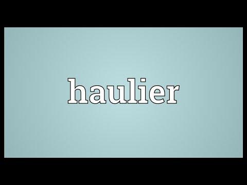 Header of haulier