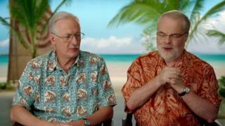 Moana: Directors Ron Clements & John Musker Behind The Scenes Movie Interview