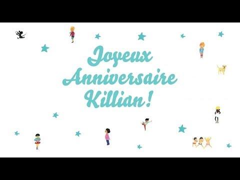 ♫ Joyeux Anniversaire Killian! ♫
