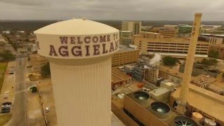 College Station, TX Drone Visual | Welcome To AggieLand