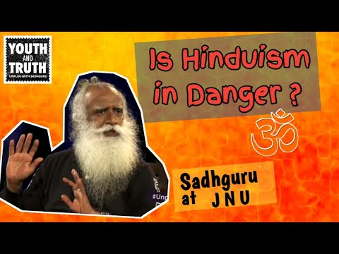 Is Hindu Religion in Danger ? Sadhguru at JNU