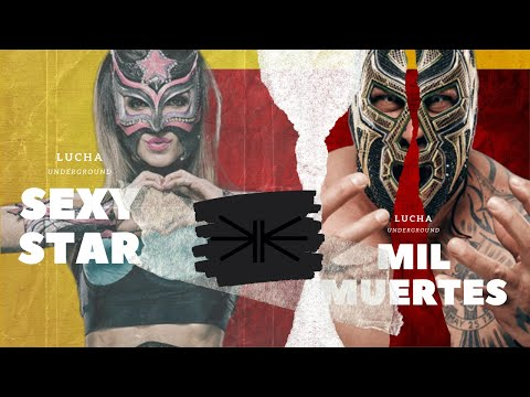 Lucha Underground - Mil Muertes and Sexy Star Interview