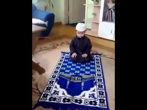 CUTE MUSLIM BABY PRAYING. - YouTube Islamic Prayer Baby